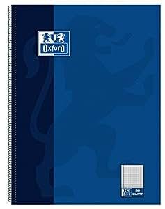 Oxford Collegeblock, DIN A4+, 80 Blatt, kariert,
