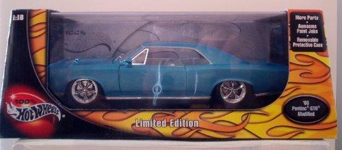 1966-pontiac-gto-modified-by-hotwheels-diecast-118-by-mattel