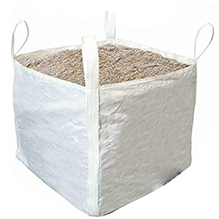 Heavy Duty 1 Tonne Load Sack/Bulk Bag – 900mm x 900mm – Sand, Brick, Stone, Concrete, Rock, Garden & Landscape Debris - Loops