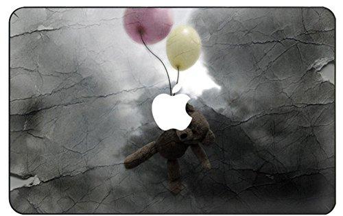 lektion Hochwertige Ultra Dünn Vorderseite Aufkleber Removeable Top Abziehbild Für New MacBook Air 13 Zoll Retina (2019/2018, Touch ID) (Modell: A1932) (Ballon - bär) ()