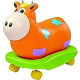 Worlds Apart GetGo Rock-n-Rolla Cow Ride-On (Orange)_P