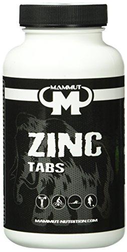 Mammut Zinc Tabs, 10 mg pro Tab, 1er Pack (186 g)