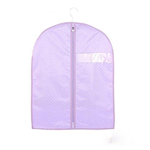 Sacs de rangement Xuan - Worth Another Motif de Point Blanc Pourpre 5 pièces de vêtements lavables Housse de Protection de fenêtre Housse de Haute qualité Sac de Valise (Taille : 60 * 100cm)