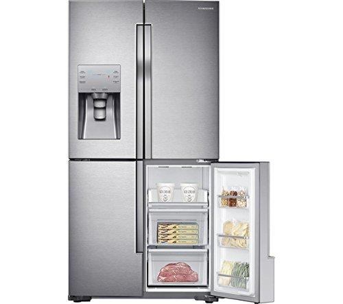 Samsung RF56J9040SR American Style Freestanding Fridge Freezer Stainless Steel