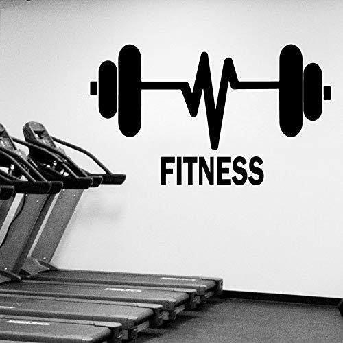 Gimnasio Fitness Etiqueta La Pared Decoración Para