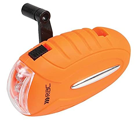 RAC - Pebble LED Wind Up Eco Torch