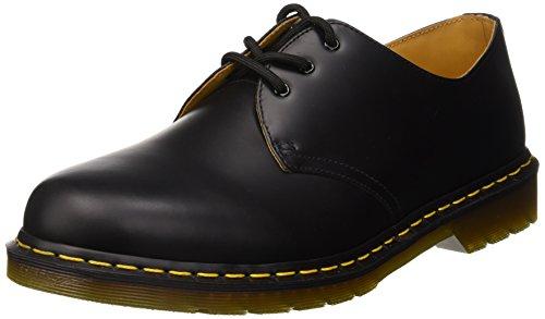 Dr. martens 1461z dmc sm-cr dmc sm-cr scarpe basse stringate, unisex adulto, nero, 49.5, nero (black), 39