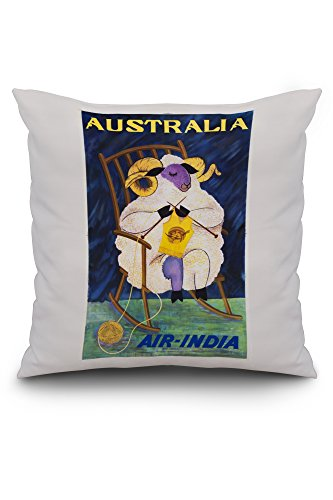 air-india-australia-vintage-poster-c-1968-20x20-spun-polyester-pillow-case-custom-border