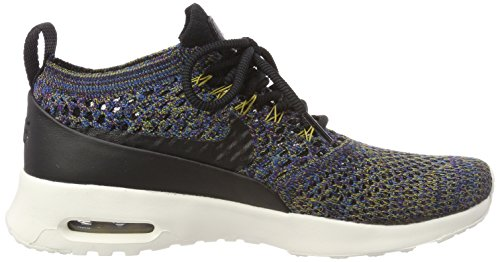 Nike–Maglietta da corsa a maniche corte Uomo DD 1/2Zip Nero (Black/black-ivory-night Purple)