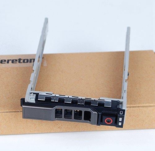 2Stück, neue 13. Generation 6,3cm SAS SATA Festplatte Tray Caddy für Dell Poweredge R630R730R730X D T630R430T430PowerVault md1420md3420Serie