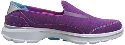 Skechers Gowalk 3 Force, Sneakers basses femme Pink (Pkbl)
