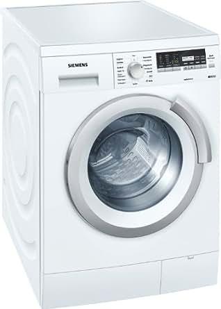 siemens wm14s444 machine laver chargement frontal a 1400 tr min 8 kg blanc anti. Black Bedroom Furniture Sets. Home Design Ideas