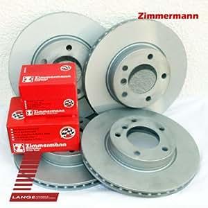 Zimmermann kIT freins revêtements pour bMW e90 e91 348 mm x 336 mm hA vA de l'avant à l'arrière