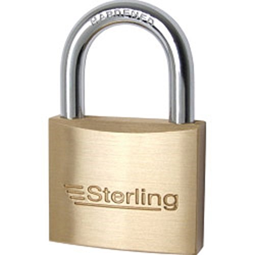 Preisvergleich Produktbild Single Locking Vorhängeschloss Messing 20mm