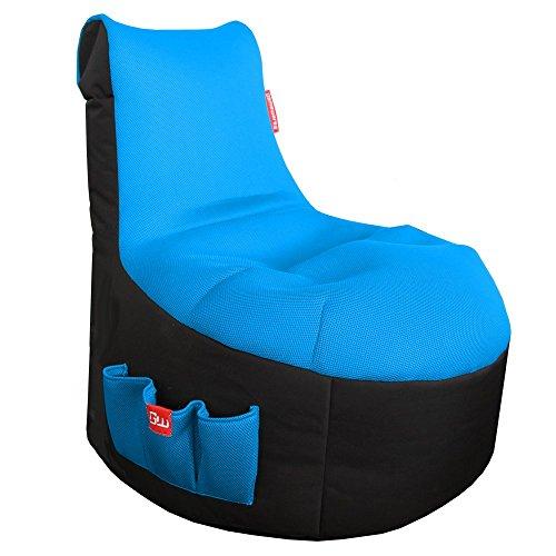 Gamewarez Classic Ice (Blue) Sitzsack, Polyesterfaser, Ice (Blau), One Size