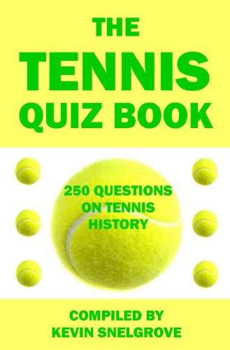 The Tennis Quiz Book (English Edition)
