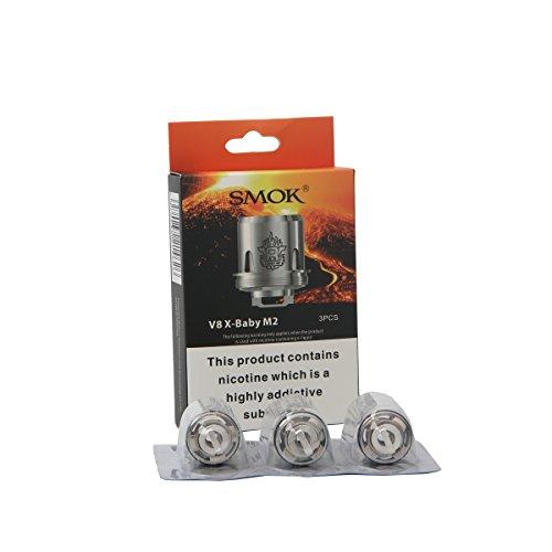 Smok Tfv8 X-Baby Spule V8 X-Baby M2 T6 Q2 X4 Kern Dual Head Spulen 3 von Packung (M2 Spule)