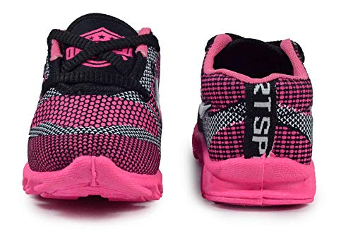 Girls Clubs Sports Shoes Multicolor Age-Group 1.3 Year to 3.5 Year for Kids Pink