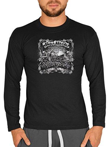 Biker Hemd - Bike Week - Langarm-Shirt für echte Kerle -
