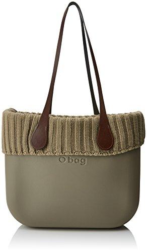 O bag evs00_tesa7_las04_ecs00, borsa a mano donna, grigio (roccia), 39 x 31 x 14 cm (w x h x l)