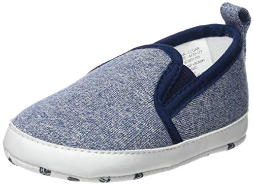 ZIPPY Zapatillas Slip-on Para Recién Nacido Chaussons bébé garçon, Bleu (Dress Blue 19/4024 TC 185) 16/17 EU