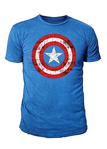 Marvel Comic - Captain America Herren T-Shirt - -