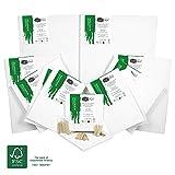 Artina FSC Keilrahmen 12er Set Akademie - 30x40 cm, 20 x20 cm, 20x30 cm, 30x30 cm & 40x60 cm Leinwand Set - 100% Baumwolle 280g/m²