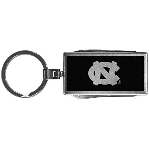 Siskiyou NCAA Unisex Multitool Schlüssel Kette. Schwarz, Unisex, Sports, Metall, One-Size