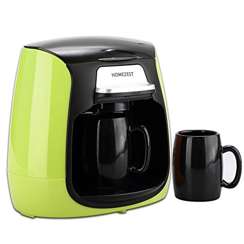 HOME UK- CM-316 Mini Doppel-Tasse Kaffee-Vollautomaten amerikanischen Drip Kaffeemaschine ( farbe :...