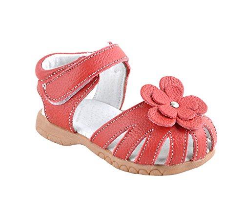 Sandalen Mädchen Prinzessin Schuhe Weiche Socken Outdoor Beach Schuhe Blumen ()