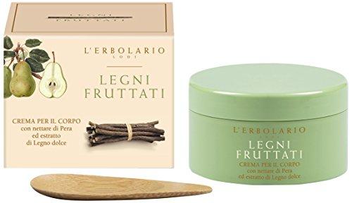 L'Erbolario Legni Fruttati Körpercreme, 1er Pack (1 x 250 ml)