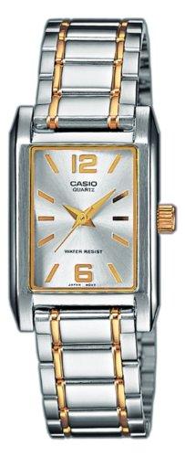 Casio - LTP-1235SG-7AEF - Montre Femme - Quartz Analogique - Bracelet Acier Inoxydable Multicolore