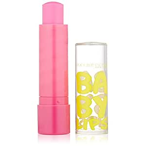 Maybelline Baby Lips Moisturizing Lip Balm, Pink Punch, 4g