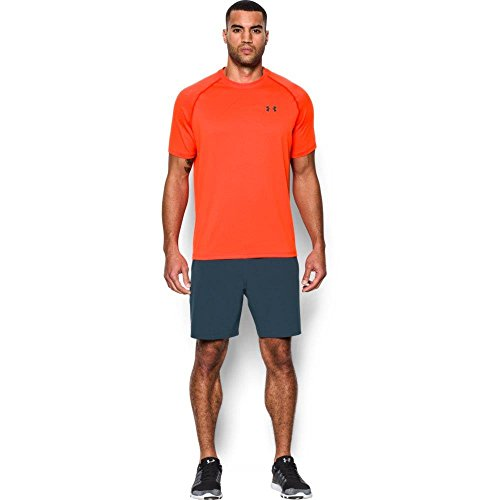 Under Armour UA Tech Ss Tee Herren Fitness - T-Shirts & Tanks, Orange Phoenix Fire, S