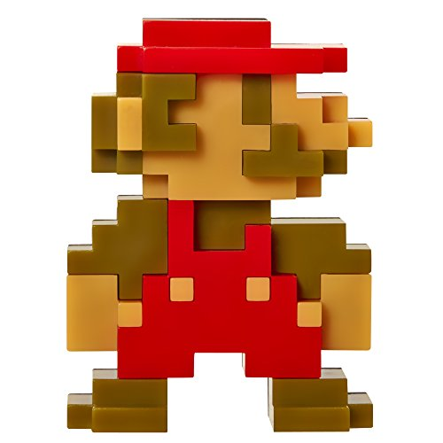 "Super Mario Bros. Series 5 Nintendo 2.5"" Mini Figure 8 Bit Mario"