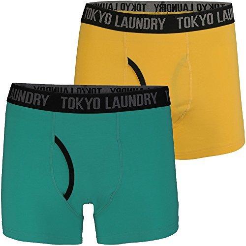 Herren Tokyo Laundry Hatfields Designer Contrast 2 Pack -