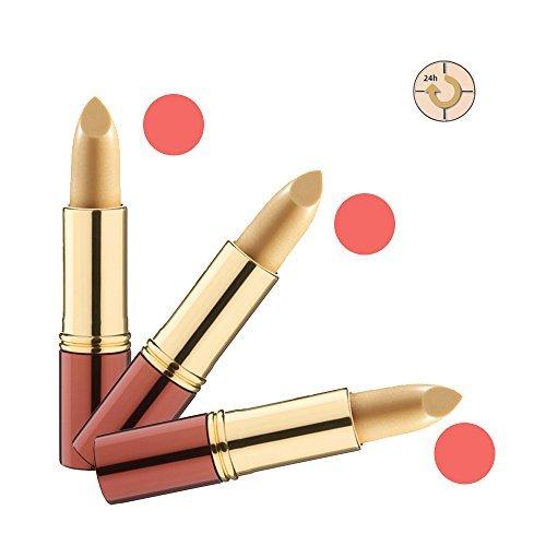 Ikos Rouge à Lèvres Lot de 3: Rouge à lèvres Intelligent DL4 jaune - abricot