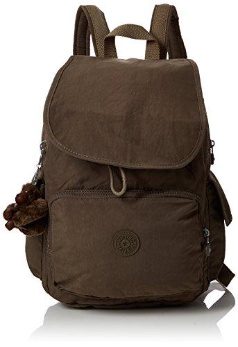 Kipling Damen City Pack Rucksack, Braun (True Beige), 32x37x18.5 cm