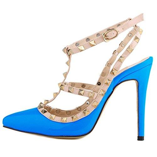 Azbro Donna scarpe Azzurro