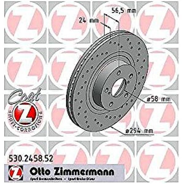 Zimmermann 530 2458 52 Vorne Bremse Perforiert Sport Coat Z Auto