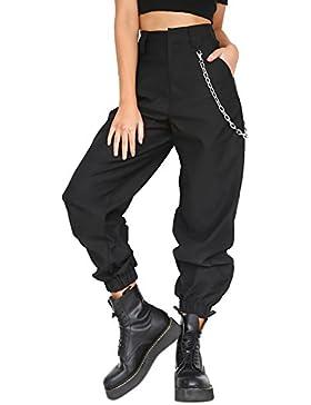 Sevozimda Le Donne Una Solida Pantaloni Cargo Sport Normali Pantaloni Lunghi Pantaloncini