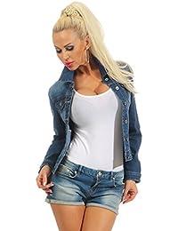 check out e1487 a82e5 Suchergebnis auf Amazon.de für: damen jeansjacke dunkelblau ...