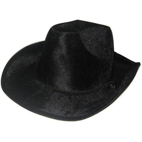 Sombrero de vaquero de terciopelo
