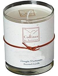 Collines de Provence 2110BPCO vela aromática de canela/ De colour naranja, 180 G