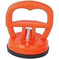 MAXGOODS Ventosa Individual de Succión para Reparación Extractores de Abolladuras de Coches Tamaño Mini 55 mm Extractor de Paneles Color Naranja