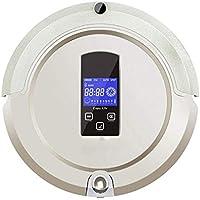 Lzour Autocargador Robot Aspirador de Alta succión con Tanque de Agua Bluetooth Control Remoto Anti-
