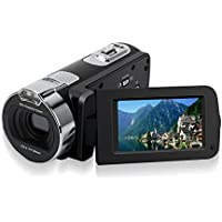 Camera Camcorders, Zoomk 16X Digital Zoom HD 1080P Mini Video Camcorder 2.7 Inche TFT LCD Screen Portable DV Video Camera ( 24 Mega Pixels)