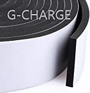 G-CHARGE EPDM Foam Single Sided High Density Self Adhesive Gasket Tape, Weather Stripping Doors and Window Ins