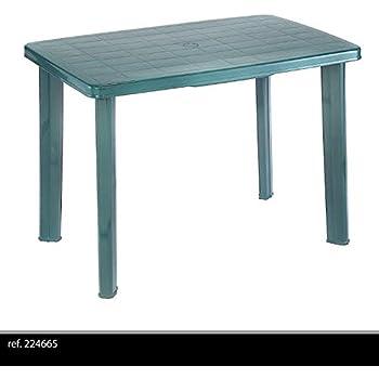 PROGARDEN Table Jardin Faro - 140x85 cm - Blanc: Amazon.fr: Jardin