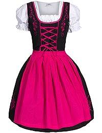 Trachtenkleid Kleid, Bluse, Schürze, Gr. 0a00e22253